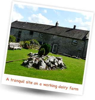 Brundcliffe Farm is a tranquil site on a working dairy farm in the heart of the Peak District.